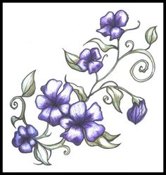 Morning Glory Flower Tattoos | Tattoo Me Now! (thoughts of a teenager)