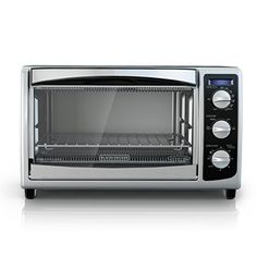 BLACK+DECKER TO1675B 6-Slice Convection Countertop Toaster Oven - Cool Kitchen Gifts