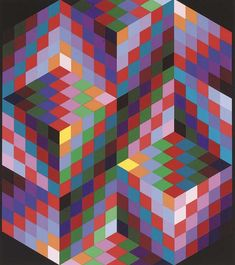 victor vasarely art - Google Search
