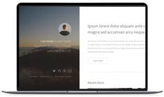 Strata - Portfolio Website Template
