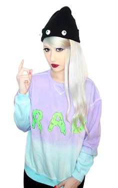 Sea Punk The Cult Label. Only Fashion, Womens Fashion, Brooklyn Style, Pastel Goth, Diy Clothes, Sea Punk, Froot Loops, Graphic Tees, Slime