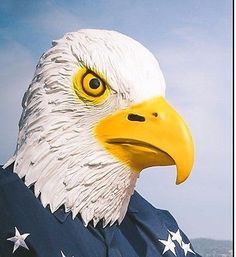Bald Eagle Mask (2014) - New - Novelty & Fun Stuff in Clothing, Shoes & Accessories,Costumes, Reenactment, Theater,Accessories   eBay