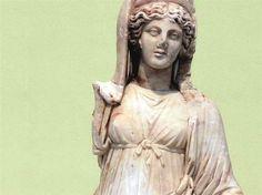 Greek Goddess Statue (Demeter) Found At Illegal Excavation in Turkey