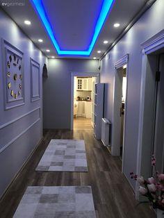 Style At Home, Egyptian Home Decor, Small Studio Apartment Design, Flur Design, Hallway Designs, Mediterranean Home Decor, Ceiling Design, Home Interior Design, Living Room Decor