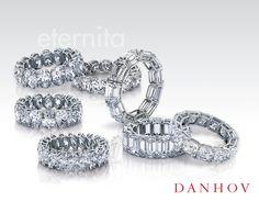 Danhov Eternita - diamonds upon diamonds. www.danhov.com