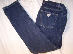 Guess Jeans. I HAD to have a pair.  Now I am obsessed with Guess purses.