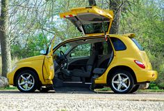 Wheelchair Accessible PT Cruiser by Freedom Motors. >>> See it. Believe it. Do it. Watch thousands of SCI videos at SPINALpedia.com