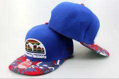 NBA Denver Nuggets Snapback Hats Caps Blue New Era 2451|only US$8.90
