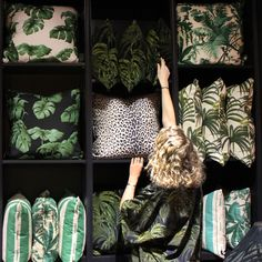 Which of our signature B O T A N I C A L printed cushions would you choose to bring the outside, inside? #Palmeral #Tarovine #Pampas #Panthera   www.lab333.com  www.facebook.com/pages/LAB-STYLE/585086788169863  www.lab333style.com  www.instagram.com/lab_333  lablikes.tumblr.com  www.pinterest.com/labstyle