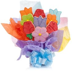 Gift Baskets By Product Flavorful Gourmet Cookie Flowers Gift