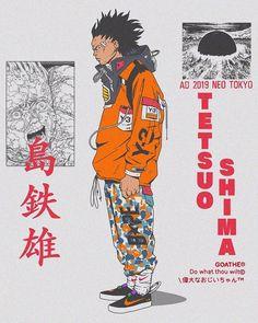 Tetsuo from Akira Mode Cyberpunk, Cyberpunk Kunst, Manga Art, Manga Anime, Anime Art, Character Concept, Character Art, Akira Tetsuo, Akira Anime