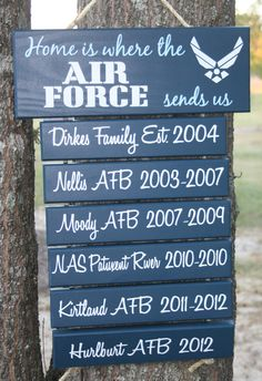 FIVE Bars Home is Where the ARMY, Navy, Coast Guard, Marine Corps, Air Force sends us (Any Branch) Military sign. must make for my aunt & uncle! Military Crafts, Military Signs, Military Love, Military Retirement, Retirement Gifts, Diy Signs, Home Signs, Airforce Wife, Usmc