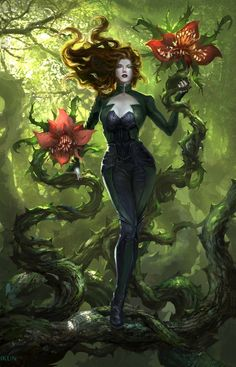 Image discovered by Silvana Fernandes. Find images and videos about dc comics, poison ivy and pamela isley on We Heart It - the app to get lost in what you love. Poison Ivy Cosplay, Dc Poison Ivy, Poison Ivy Dc Comics, Poison Ivy Costumes, Poison Ivy Comic, Poison Ivy Batman, Catwoman, Batgirl, Nightwing