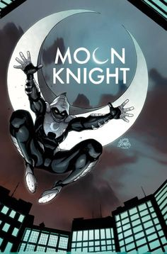 Moon Knight 3 VC by Ryan Stegman, colors by Jason Keith