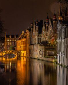 Brügge (Belgien)bei Nacht