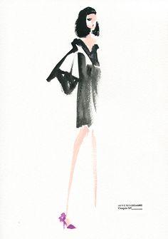 little black dress #01, Miyuki Ohashi
