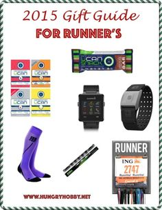 Don't know what to ask for or what to get your avid running friend? Check out my 2015 Gift Guide For Runners for gear, technology and sentimental ideas! from @hungryhobby