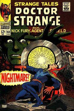Strange Tales #164 Marvel Comics