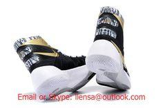 Nike Hyperdunk 2015 Black Gold White Basketball Shoes Hyperdunk 2015 6f8b19d40a4