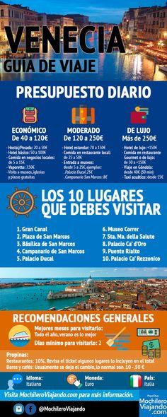 Ana Maygon: Guía de viaje a Venecia #infografía