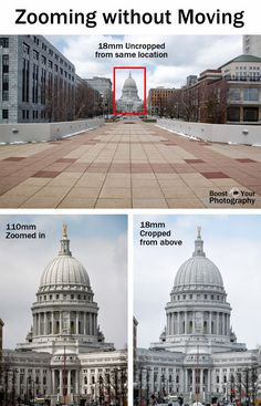 Photographing Architecture: watch your lines. Comparison of zooming from the same location. | Boost Your Photography