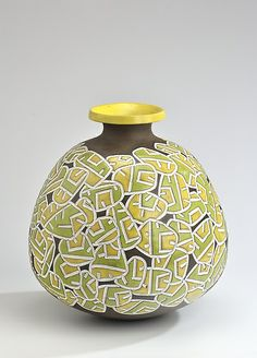 Lemon Lime: Boyan Moskov: Ceramic Vase | Artful Home
