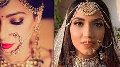 BRIDAL NOSE RING INDIAN BRIDAL MAKEOVER VIDEOS (INDIAN NOSE JEWELRY) - YouTube Nath Nose Ring, Bridal Nose Ring, Bridal Makeover, Nose Jewelry, Bridal Beauty, Indian Bridal, Hoop Earrings, Videos, Youtube