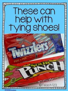 Back to School Shoe Tying Tips and Tricks at #Teach123