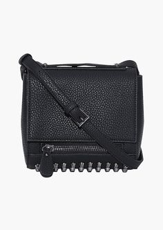 Alex Studded Bag in Black | Necessary Clothing
