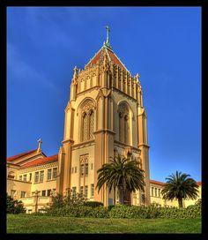 University of San Francisco - Lone Mountain Golden Gate Park, Golden Gate Bridge, University Of San Francisco, Catholic University, Higher Learning, San Francisco Bay, Places Of Interest, Roman Catholic, Pacific Ocean