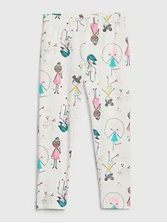 Shop Gap's Toddler Everyday Leggings: Her go-to for every day of the week., Ruffle trim at cuffs. Stylish Toddler Girl, Toddler Girl Style, Toddler Girl Outfits, Toddler Fashion, Toddler Dress, Kids Outfits, Toddler Hair, Toddler Girls, Toddler Leggings