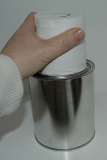 Preparedness Project - Paint Can / TP / Alcohol Emergency Heater