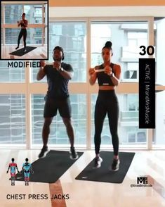 A full body HIIT workout — no equipment required Improve heart health, increase fat loss and strengthen and tone your muscles . Full Body Hiit Workout, Gym Workout Videos, Hitt Workout, Fitness Workout For Women, Dumbbell Workout, Gym Workouts, Cardio Hiit, Workout Challenge, Fitness Tracker