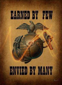 Earned by few