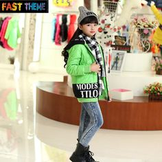 Find More Down & Parkas Information about large girl children pure eider down jacket casual letters print girls down coat A03,High Quality clothing packaging,China clothing twins Suppliers, Cheap jacket uniform from FT Children Clothes Store on Aliexpress.com
