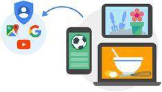 La información de las aplicaciones y los sitios web que usas se guarda en tu cuenta de Google.