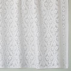 Cotton Lace Curtains | Victorian Era | Bradbury & Bradbury. Brownstone Lace Our newest pattern, Brownstone, is inspired by the frosted glass patterns that were found in so many entries during the mid-to-late 19th century.