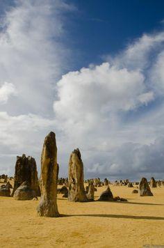 Photo prise dans le désert des Pinnacles en Australie-Occidentale par le GEOnaute : Vgd Pictures