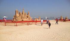 See sandcastle creations at The Beach JBR: Dubai's New Beachfront Lifestyle Destination