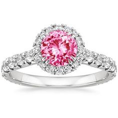 18K White Gold Sapphire Sienna Ring