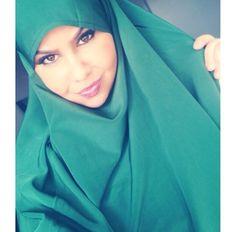 Green Jilbab