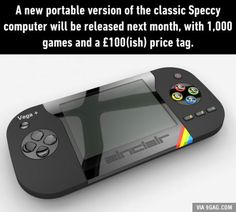 After raising over £350,000 in crowdfunding from retro lovin' games fans, the Sinclair ZX Spectrum Vega+ will be released on October 20