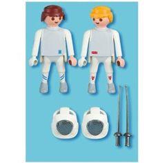 Playmobil - 5195 - Jeu de construction - 2 escrimeurs
