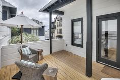 Vintage Carriage House is made for a romantic getaway! Beach Cottage Rentals, Beach Vacation Rentals, Garage Apartments, Rental Apartments, Rosemary Beach Rental, Facade House, House Facades, Carriage House Plans, Beach Cottages
