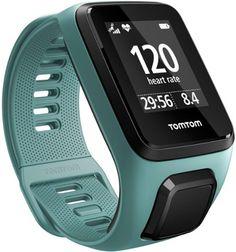 TomTom Spark 3 Cardio GPS Heart Rate Monitor Watch Aqua S