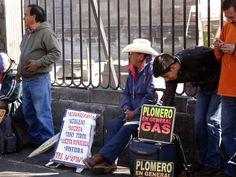 Arbeitsamt auf Mexikanisch