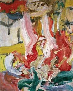 Untitled, 1977 by Willem de Kooning is part of the extensive collection of contemporary art at the Kemper Museum in Kansas City, MO.