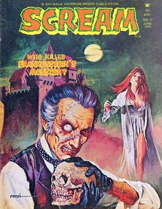 Retrospace: Cover Gallery #9: Horror Comics of the 1970s