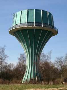 water tower, flensburg germany