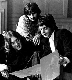 John Lennon, Richard Starkey, and Paul McCartney (Three)